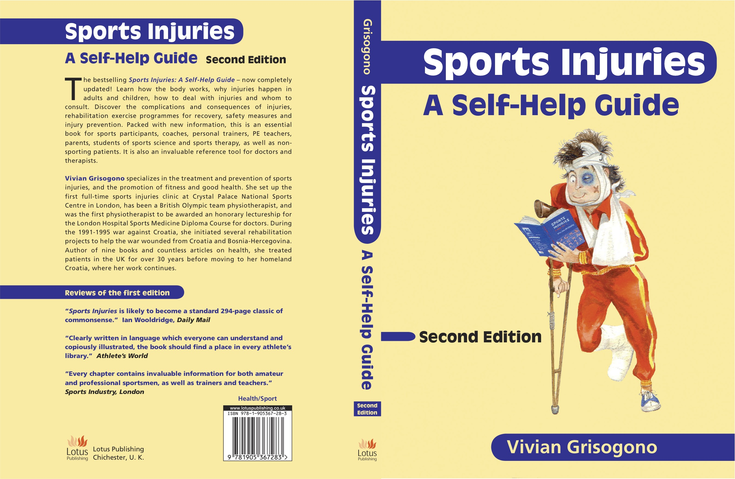 Sports Injuries, A Self-Help Guide, 2nd edition